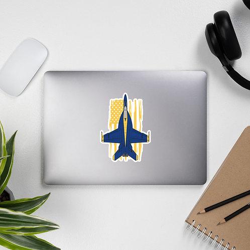 UNOFFICIAL USN BLUE ANGELS F/A-18E SUPER HORNET USA Sticker