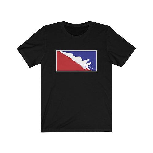 F-15 EAGLE RWB Unisex Short Sleeve T-Shirt