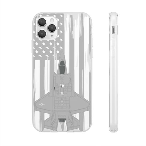 F-35A LIGHTNING II USA Flexi Phone Case