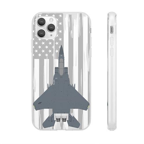 F-15E STRIKE EAGLE USA Flexi Phone Case