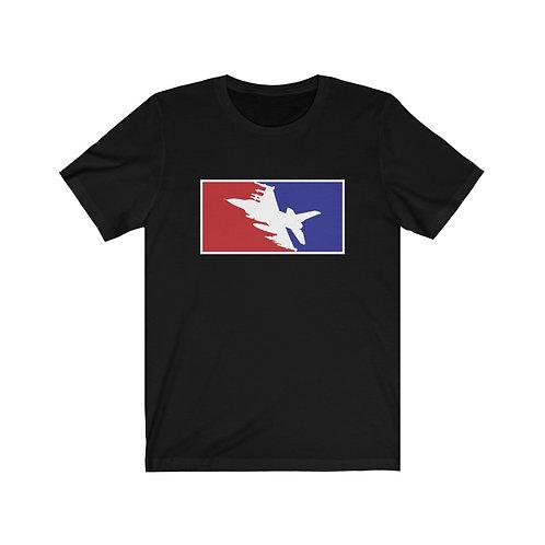 F-16 FIGHTING FALCON RWB Unisex Short Sleeve T-Shirt