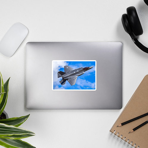 F-35A LIGHTNING II PHOTO STICKER