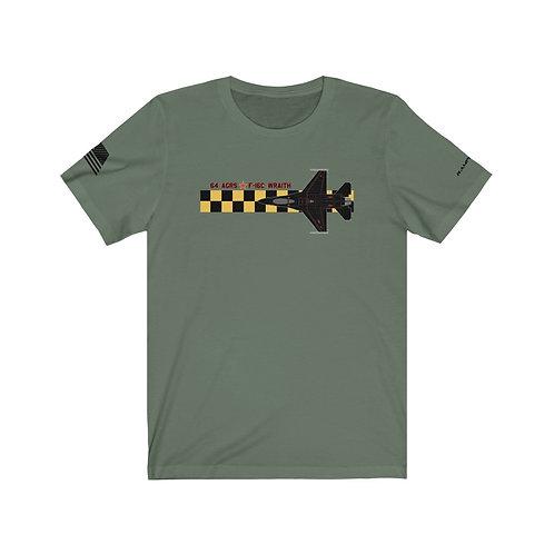 UNOFFICIAL 64 AGRS F-16C WRAITH AGGRESSOR Unisex T-Shirt