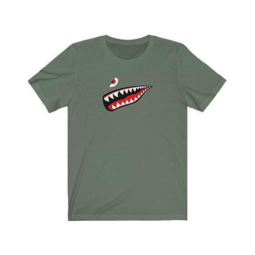WARBIRD SHARK TEETH Unisex Short Sleeve T-Shirt