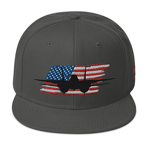 F-14 TOMCAT USA Snapback Hat