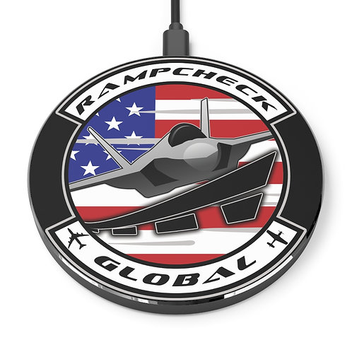 RAMPCHECK GLOBAL LOGO Wireless Charger