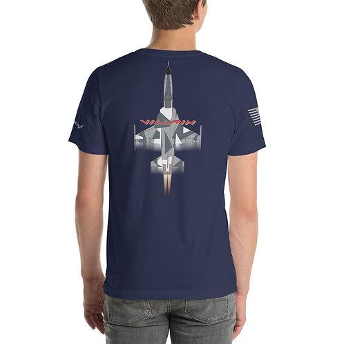 F-5 VILLAIN ARCTIC SPLINTER AGGRESSOR FULL SEND PREMIUM Lightweight T-Shirt