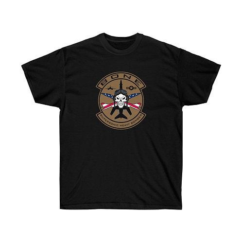 UNOFFICIAL USAF BONE SKULL & CROSS BONES USA Heavyweight T-shirt