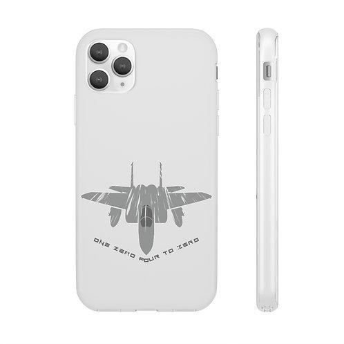 F-15 ONE ZERO FOUR TO ZERO Flexi Phone Case