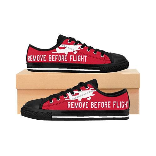 REMOVE BEFORE FLIGHT C172 Women's Sneakers