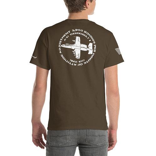 A-10 3,900 RPM OF ATTITUDE ADJUSTMENT PREMIUM Heavyweight T-shirt