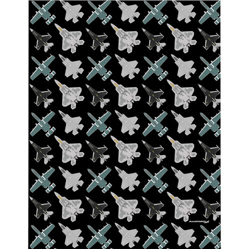 UNOFFICIAL USAF ACC DEMO TEAMS Microfiber Duvet Cover