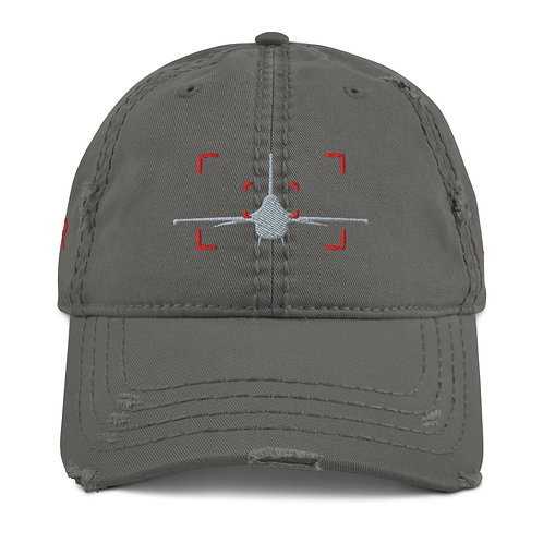 LOCKED ON VIPER AVIATION PHOTOGRAPHY Distressed Dad Hat