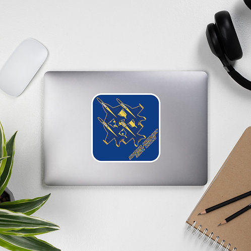 UNOFFICIAL USN BLUE ANGELS SUPER HORNET DIAMOND EST. 2020 Sticker