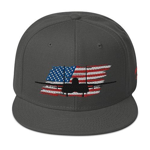 F-15 STRIKE EAGLE USA Snapback Hat
