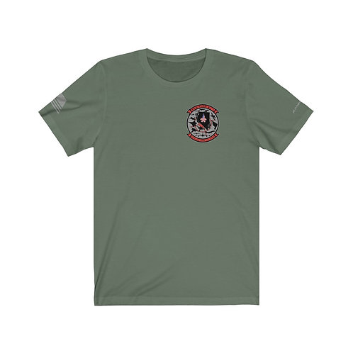 UNOFFICIAL NELLIS AFB USA RED FLAG 21-1 Unisex Short Sleeve T-shirt