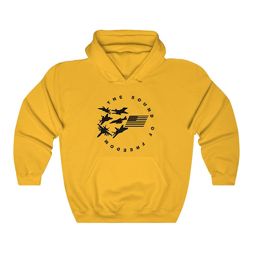 THE SOUND OF FREEDOM USN USMC FIGHTER & ATTACK Unisex Heavy Blend Hoodie