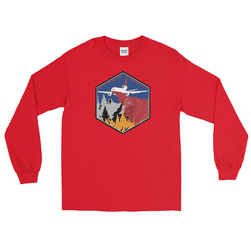 DC-10 KICK THE TIRES AND PUT OUT THE FIRES Long Sleeve T-Shirt