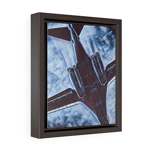 BONE POWER Framed Premium Gallery Wrap Canvas Print
