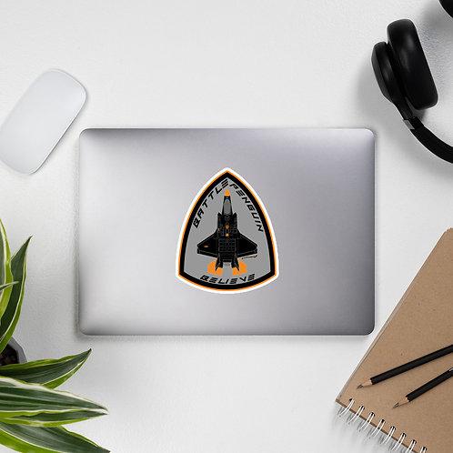 F-35 BATTLE PENGUIN BELIEVE BADGE OF HONOR Sticker