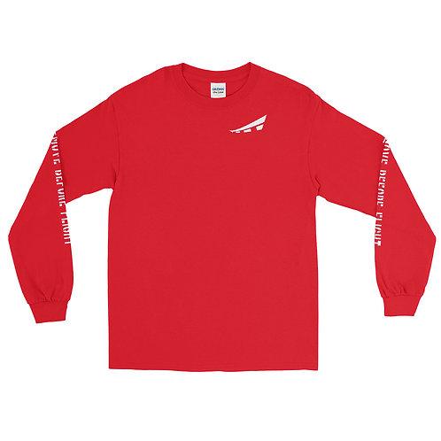 REMOVE BEFORE FLIGHT Unisex Long Sleeve Shirt