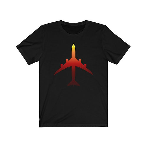 747-8 SUNSET SILHOUETTE Unisex Short Sleeve T-Shirt