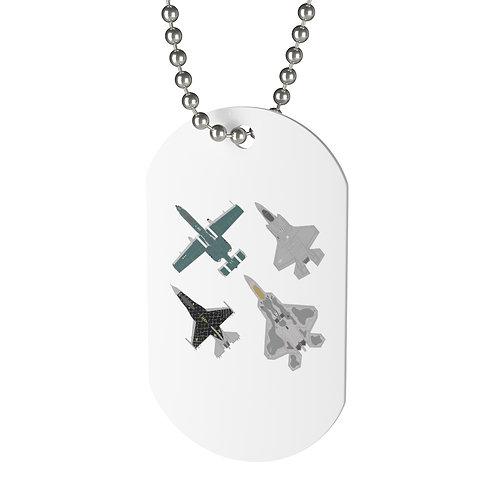 UNOFFICIAL USAF ACC DEMO TEAMS Dog Tag