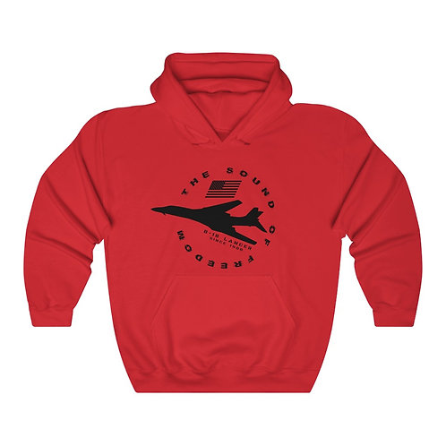 B-1B LANCER THE SOUND OF FREEDOM SINCE 1986 Unisex Heavy Blend Hoodie