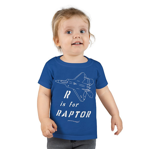 R IS FOR RAPTOR Toddler T-shirt