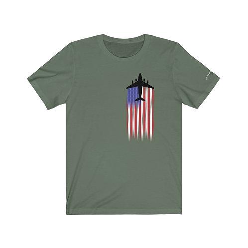 C-17A US FLAG FULL SEND Unisex T-Shirt