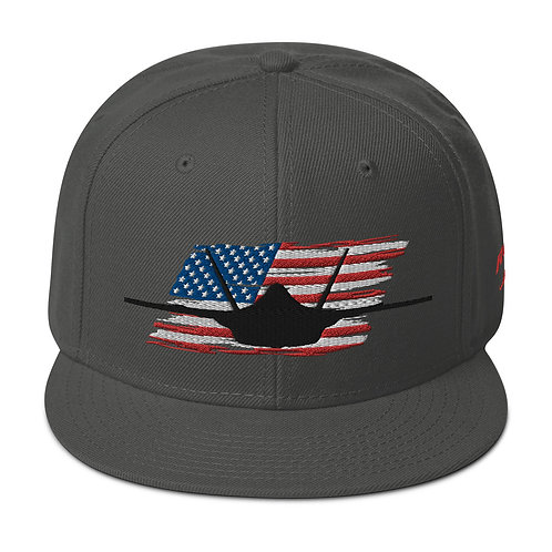 F-35 LIGHTNING II USA Snapback Hat