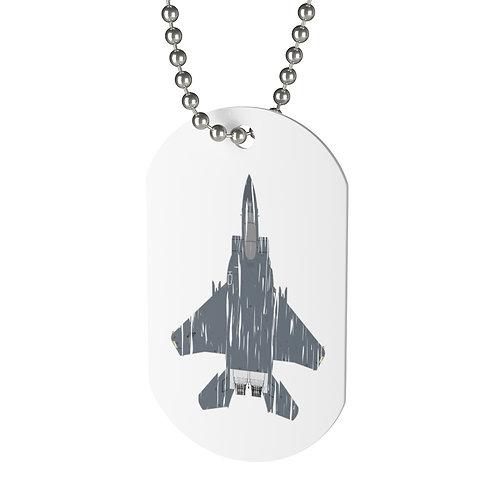 SHREDDED F-15E STRIKE EAGLE Dog Tag