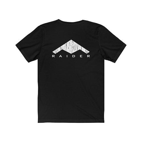 B-21 RAIDER BACK PRINT Unisex Short Sleeve T-Shirt