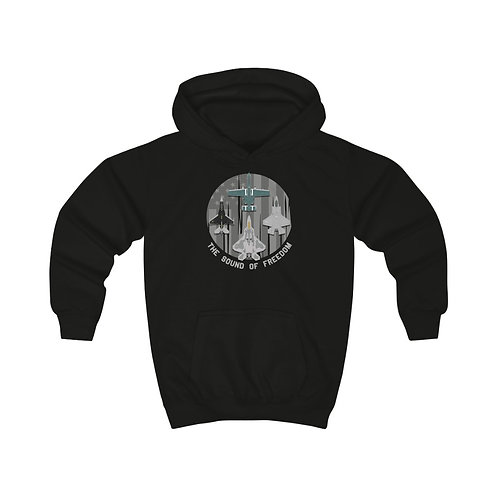 UNOFFICIAL USAF ACC DEMO TEAMS THE SOUND OF FREEDOM Kids Hoodie