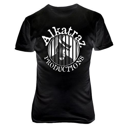 Black Alkatraz Tee
