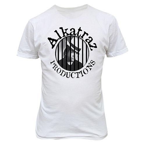 White Alkatraz Tee