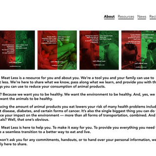 Website 'About' Page