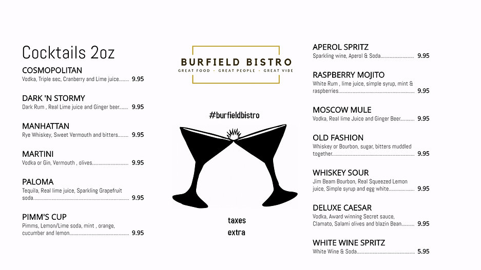 Copy of burfield drink menu - Made with