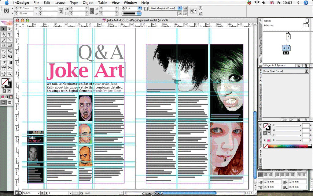 London Software Training InDesign Course Screenshot 2