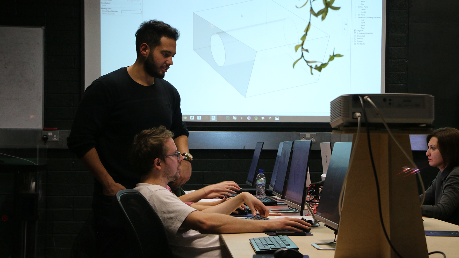 London Software Training Classroom 2