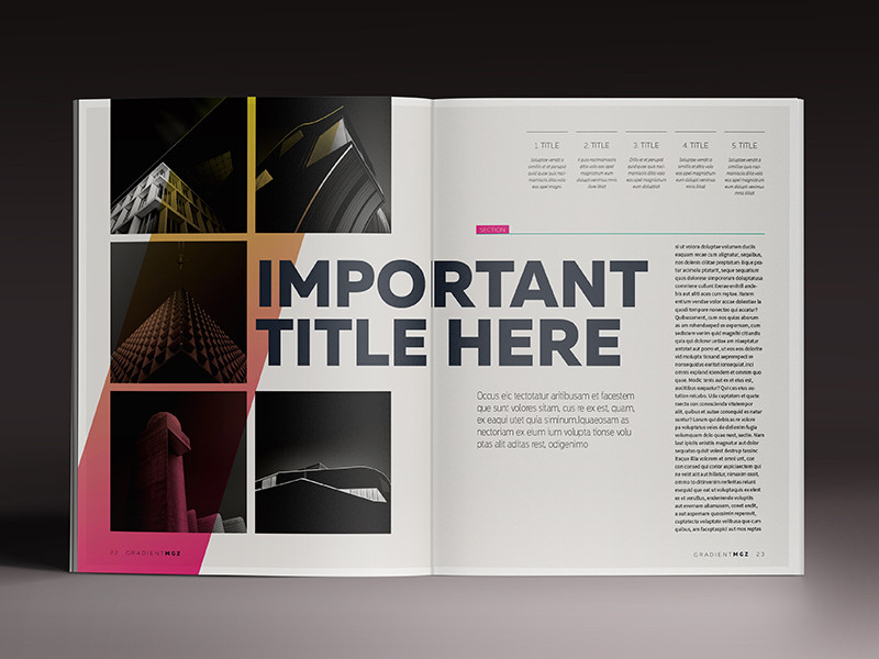 London Software Training InDesign Course Example 2