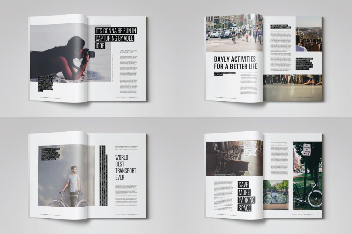 London Software Training InDesign Example 2