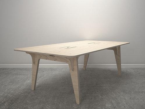 Birch Ply & Valchromat Table