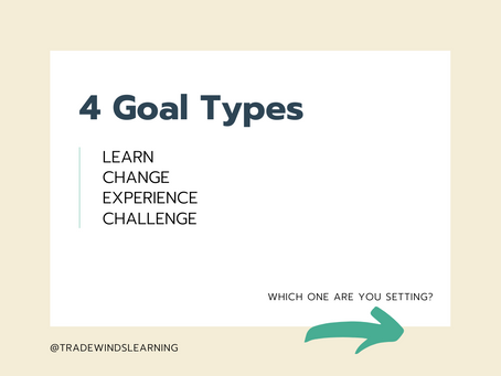 Four Types of Goals to Set and Tips for Accomplishing Them