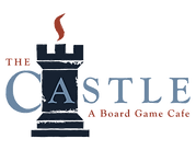 The Castle A Board Game Cafe logo.png