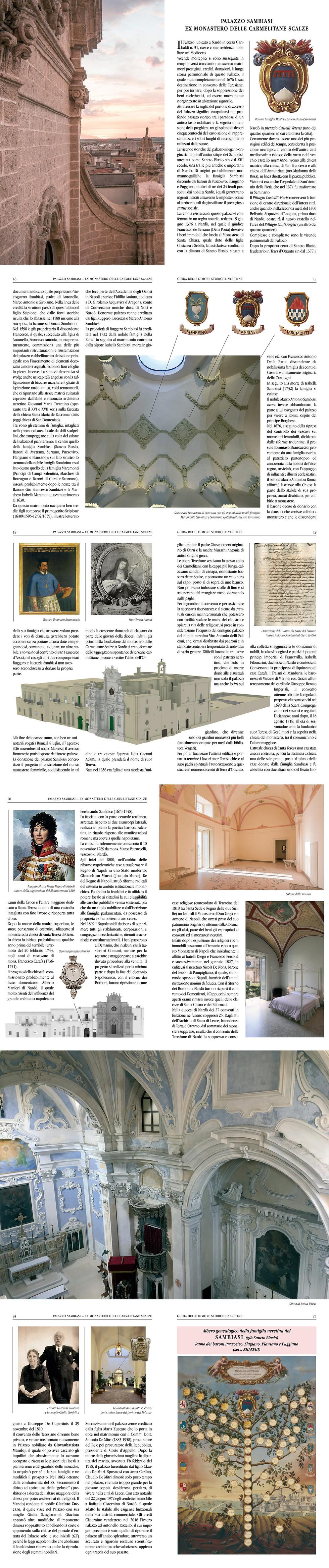 Storia del Monastero SantaTeresa