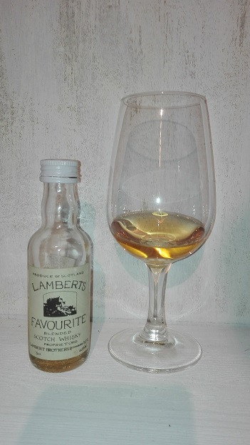 Lambert Brothers, Whisky, Lambert Whisky, Blend, Edinburgh, Lamberts Favourite