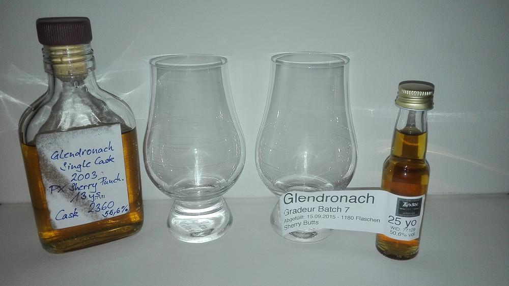 Glendronach Grandeur Batch 7, Glendronach Kirsch Import 13 Jahre, Tasting, Test, Cask Strengh