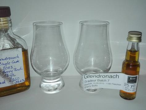 Glendronach Grandeur Batch 7 vs. Glendronach 13yrs. 2003 Tasting