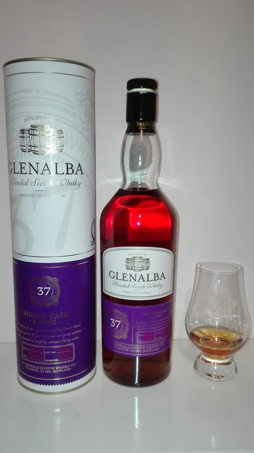 Glenalba 37, Lidl Whisky, Blen Lidl Blend, Tasting, Test, Notes